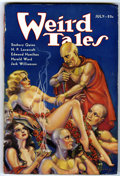 Pulps:Horror, Weird Tales July 1933 (Popular Fiction, 1933) Condition: AverageVG/FN....
