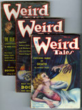 Pulps:Miscellaneous, Weird Tales Group (Popular Fiction, 1932-36).... (Total: 8 Items)
