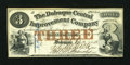 Obsoletes By State:Iowa, Dubuque, IA- Dubuque Central Improvement Company $3 Feb. 10, 1858. ...