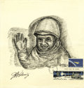 "Autographs:Celebrities, John Glenn Signed First Day Cover. ""J. A. Glenn, Jr."". Onepage, 8.5"" x 8"". The cover, postmarked Kennedy Space Center, ..."