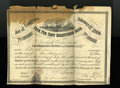 Confederate Notes:Group Lots, Ball 286 Cr. 141 $100 1864 Four Per Cent Registered Bond Good.. ...