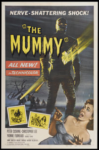 "The Mummy (Universal International, 1959). One Sheet (27"" X 41""). Horror"