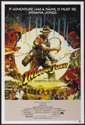 """Movie Posters:Adventure, Indiana Jones and the Temple of Doom (Paramount, 1984). AustralianOne Sheet (27"""" X 40"""") Style A. Adventure...."""