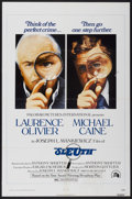 "Movie Posters:Mystery, Sleuth (20th Century Fox, 1972). One Sheet (27"" X 41""). Mystery...."