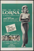 """Movie Posters:Adult, Lorna (Eve Productions, 1964). One Sheet (27"""" X 41""""). Adult...."""