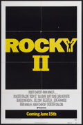 "Movie Posters:Sports, Rocky II (United Artists, 1979). One Sheet (27"" X 41"") Advance. Sports...."