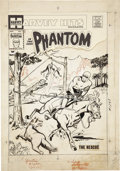Original Comic Art:Covers, Joe Simon Harvey Hits Magazine #1 The Phantom Cover OriginalArt (Harvey, 1957)....