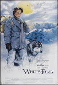 "Movie Posters:Adventure, White Fang (Buena Vista, 1991). One Sheet (27"" X 40"") DS.Adventure...."