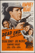 "Movie Posters:Crime, Dead End (Samuel Goldwyn, R-1954). One Sheet (27"" X 41""). Crime...."