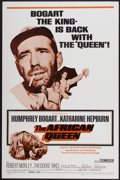 "Movie Posters:Adventure, The African Queen (Trans-Lux, R-1968). One Sheet (27"" X 41"").Adventure...."