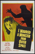 """Movie Posters:Science Fiction, I Married a Monster From Outer Space (Paramount, 1958). One Sheet(27"""" X 41""""). Science Fiction...."""