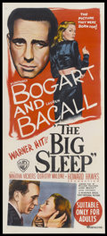 "Movie Posters:Film Noir, The Big Sleep (Warner Brothers-First National, 1946). AustralianDaybill (13"" X 30""). Film Noir...."