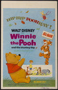 "Movie Posters:Animated, Winnie the Pooh and the Blustery Day (Buena Vista, 1969). WindowCard (14"" X 22""). Animated...."