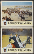 "Movie Posters:Academy Award Winner, Lawrence of Arabia (Columbia, 1962). Lobby Cards (2) (11"" X 14"").Academy Award Winner.... (Total: 2 Items)"