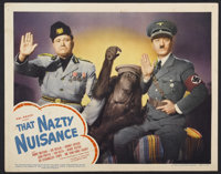 "That Nazty Nuisance (United Artists, 1943). Lobby Card (11"" X 14""). Comedy"