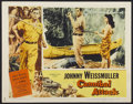 """Movie Posters:Adventure, Cannibal Attack Lot (Columbia, 1954). Lobby Cards (3) (11"""" X 14"""").Adventure.... (Total: 3 Items)"""