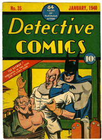 Detective Comics #35 Front Cover Only