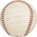 Autographs:Baseballs, 1952 Boston Braves Team Signed Baseball. ...