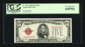 Small Size:Legal Tender Notes, Fr. 1531 $5 1928F Wide I Legal Tender Note. PCGS Very Choice New 64PPQ.. ...