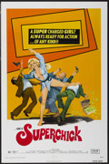 "Movie Posters:Bad Girl, Superchick (Crown International, 1973). One Sheet (27"" X 41""). BadGirl...."