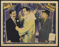 "Movie Posters:Comedy, A Night at the Opera (MGM, 1935). Lobby Card (11"" X 14"").Comedy...."