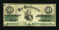 Confederate Notes:1861 Issues, CT16/86C $50 1861.. ...