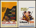 "Movie Posters:War, The Devil's Brigade Lot (United Artists, 1968). Window Cards (8)(14"" X 22""). War.... (Total: 8 Items)"