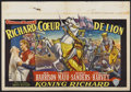 "Movie Posters:Adventure, King Richard and the Crusaders (Warner Brothers, 1954). Belgian(14.5"" X 21""). Adventure...."