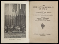 """The Best Moving Pictures of 1922-1923 (Small, Maynard & Company, 1923). Book (5.5"""" X 7.5""""). Miscellane..."""