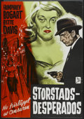 """Movie Posters:Crime, Marked Woman (Imperia, R-1964). Swedish One Sheet (27.5"""" X 39.5""""). Crime...."""