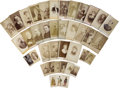 Photography:Cabinet Photos, Grouping of 39 European Cabinet Cards and CDVs. ... (Total: 39Items)