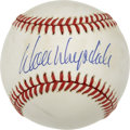 Autographs:Baseballs, Don Drysdale Single Signed Baseball with Signed Trading Card....(Total: 2 items)