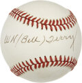Autographs:Baseballs, Bill Terry Single Signed Baseball....