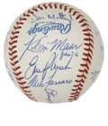 Autographs:Baseballs, 1991 New York Yankees Team Signed Baseball....