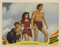 "Movie Posters:Adventure, Tarzan's Secret Treasure (MGM, 1941). Lobby Card (11"" X 14"")...."