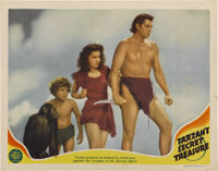 "Tarzan's Secret Treasure (MGM, 1941). Lobby Card (11"" X 14"")"