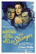 "Movie Posters:Film Noir, The Stranger (RKO, 1946). One Sheet (27"" X 41"") Style A...."