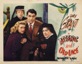 "Movie Posters:Comedy, Arsenic and Old Lace (Warner Brothers, 1944). Lobby Card (11"" X14"")...."