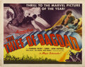 "Movie Posters:Fantasy, The Thief of Bagdad (United Artists, 1940). Half Sheet (22"" X 28"")""Flying Horse"" Style...."