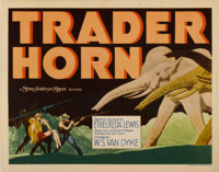 """Trader Horn (MGM, 1931). Title Lobby Card and Lobby Cards (2) (11"""" X 14"""").... (Total: 3 Items)"""