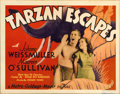"Movie Posters:Adventure, Tarzan Escapes (MGM, 1936). Title Lobby Card (11"" X 14"")...."