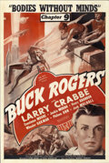 "Movie Posters:Serial, Buck Rogers (Universal, 1939). One Sheet (27"" X 41""). ..."