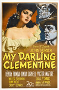 "Movie Posters:Western, My Darling Clementine (20th Century Fox, 1946). One Sheet (27"" X41"")...."