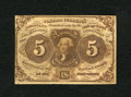 Fractional Currency:First Issue, Fr. 1230 5c First Issue Very Fine....