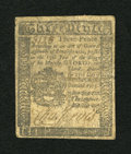 Colonial Notes:Pennsylvania, Pennsylvania October 25, 1775 3d Fine....