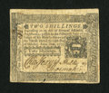 Colonial Notes:Pennsylvania, Pennsylvania October 25, 1775 2s Extremely Fine....