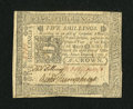 Colonial Notes:Pennsylvania, Pennsylvania October 25, 1775 5s About New....