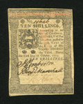 Colonial Notes:Pennsylvania, Pennsylvania October 1, 1773 10s About New....