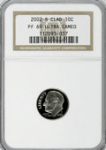 Proof Roosevelt Dimes, 2002-S 10C Clad PR69 Ultra Cameo NGC. PCGS Population (1794/51).Numismedia Wsl. Price for NGC/PCGS coi...