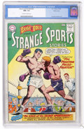 Silver Age (1956-1969):Adventure, The Brave and the Bold #47 Strange Sports Stories - Pacific Coast pedigree (DC, 1963) CGC NM+ 9.6 Off-white to white pages....